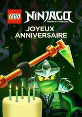 Lego Ninjago Les Maîtres Du Spinjitzu Joyeux Anniversaire